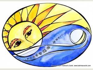 Solstice note cards set of 6