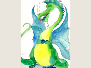 Dragon note card Gift Set