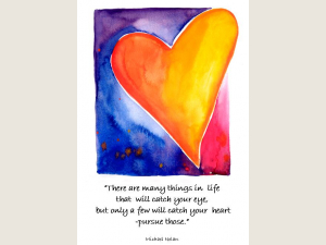 Golden Heart  quote