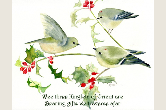 Wee Three Kinglets of Orient are...