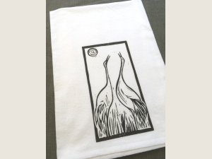 photo of Crane Song kitchen towel